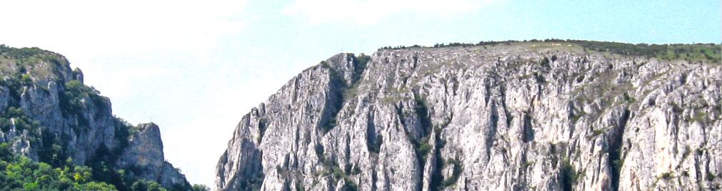 Rezervatia naturala Cheile Turzii defileul Cheilor